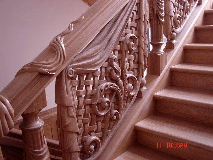 деревянные резные ограждения балконов бюджетной